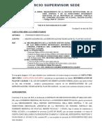 CARTA N°070-2020-REVISION DEL  PLAN DE CALIDAD
