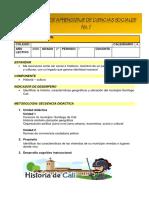 Guía 2grado  seman 1 Sociales