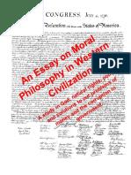 Essay on Moral Philosophy