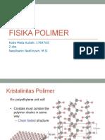 Materi 4 Fisika Polimer
