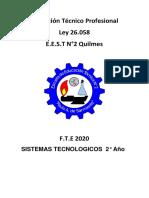 sistemas tecnicos  2ª
