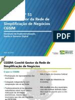Apresentação Resolução CGSIM