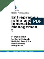 Modul Entrepreneurship and Innovation Management [TM1].doc