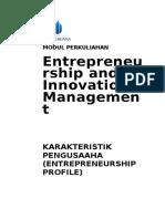 Modul Entrepreneurship and Innovation Management [TM2].doc