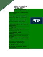 TALLER CUMPLIMIENTO DE NUMERALES NORMAS ISO 9001 - ISO 14001 - ISO 45001
