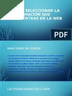 COMO SELECCIONAR EN LA WEB CAP II (1)