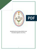 Quintero de la Pava, Ivan Dario - Ensenanzas Kabalisticas II (Articulo)