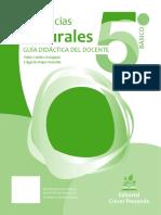 Ciencias Naturales 5º básico - Guía didáctica del docente tomo 1 (1).doc