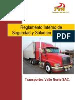 2. TVN SGSST Reglamento Interno de Seguridad y Salud en el Trabajo Rev. 0 - A5.pdf