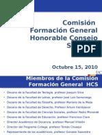 Presentación Comisiones Consejo Superior