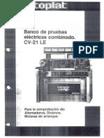 CV21LE - Banco de pruebas electrico combinado