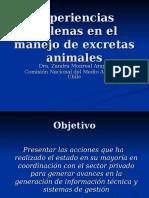 excretas animales