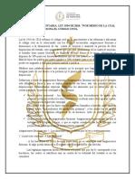 TRABAJO DE ley 1934 de 2018
