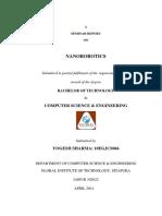 nanoroboticsseminarreport-140424002200-phpapp01