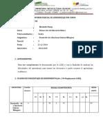 formato informes parciales por materia