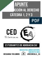 Apunte - Intro Al Derecho - Juani Ruscitti
