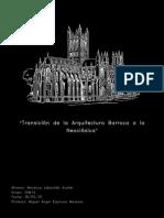 Transicion del barroco al neoclasico - Mendoza Labastida Asahel