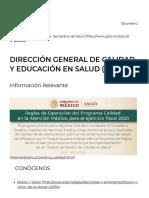 DGCES _ Salud _ Gobierno _ gob.mx