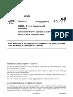 01.2019 A Level Eduqas Level Composition briefs.pdf · version 1.pdf