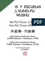 Estilos y Escuelas del Kung Fu Wushu