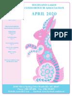 April 2020 Herald