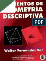Elementos de Geometría Descriptiva - Walter Fernández Val .pdf