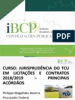 MATERIAL DIDÁRICO - CURSO DE ATUALIZAÇÃO EM LICITAÇÕES E CONTRATOS