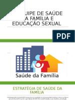 A EQUIPE DE SAÚDE DA FAMÍLIA E EDUCAÇÃO sexual trabalho karol