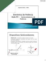 Aula 3 - Semicondutores de Potência