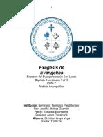 Análisis Lexicográfico y Estructural Lucas 8 1 15
