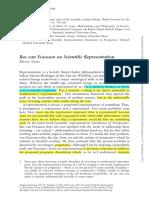 Ghins. 2010. Bas van Fraassen on Scientific Representation
