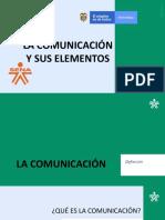 La comunicación y sus elementos