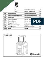 DMR115 manual