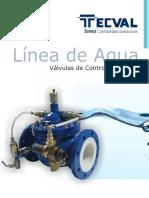 Catalogo Linea de Control Hidraulico TECVAL