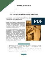 Las presidencias de Perón - secuencia.docx