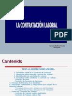 LA CONTRATACIÓN LABORAL