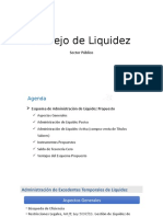 Manejo de Liquidez Sector Público
