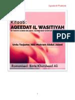 Aqeedat Ul Wasitiyah