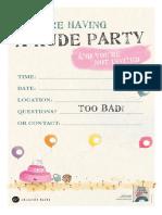 Rude Cakes Activity Kit