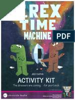 T. Rex Time Machine Activity Kit