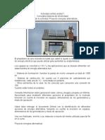 Actividad central unidad 1 instalaciones electricas domiciliarias