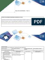 Guia de actividades y rubrica de evaluacion Fase 1