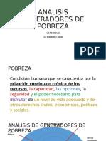 ANALISIS GENERADORES DE POBREZA