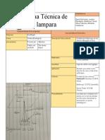 Ficha Técnica de Lampara
