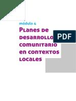 PLANES DE DESARROLLO COMUNITARIO EN CONTEXTO LOCALES.pdf
