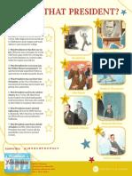 The Next President Activity Sheet