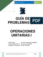 Guía de Problemas operaciones unitarias 1 2020