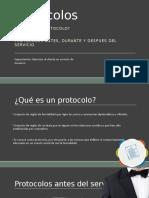 Protocolos de servicio