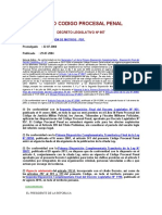Decreto Legislativo 957 - Nuevo Código Procesal Penal
