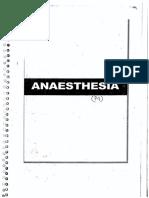Anesthesia DAMS